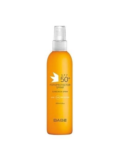 Babe SunScreen SPF50 - Güneş Koruyucu Sprey 200 Ml Renksiz